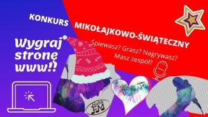 KONKURS Mikołajkowo-Świąteczny dla MUZYKÓW!