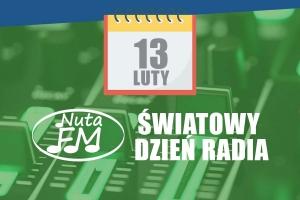 13 lutego ŚWIATOWY DZIEŃ RADIA - kartka z muzycznego kalendarza